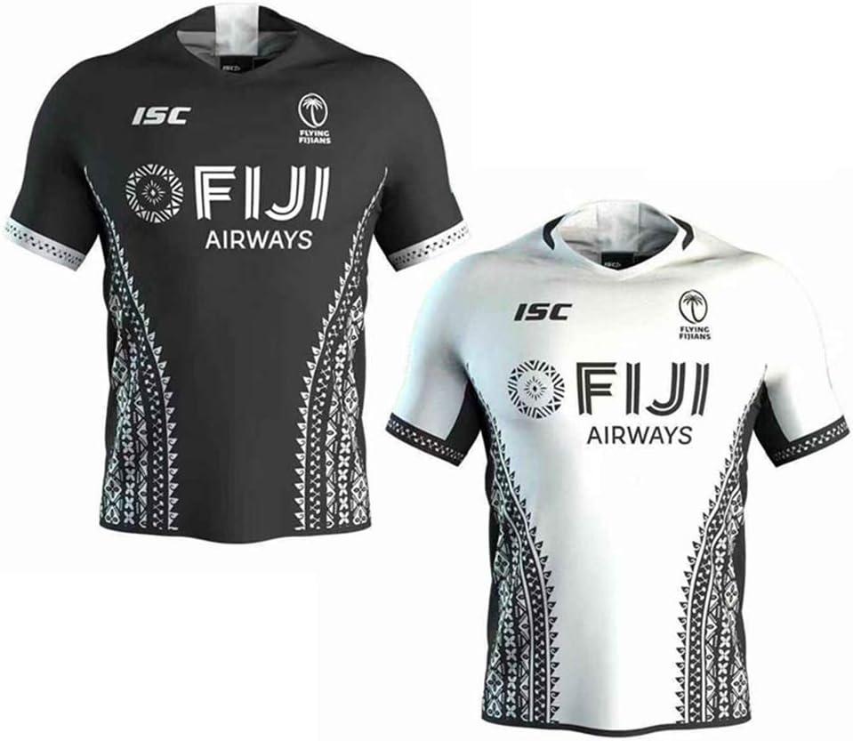 JUNBABY 2020 Fiji Rugby Jersey Mens Polo Shirt New Version Fijians Rugby T-Shirt