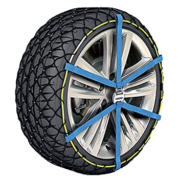 Image of MICHELIN 008314 Easy Grip Snow Chains Evolution Group, 14, Set of 2 Car