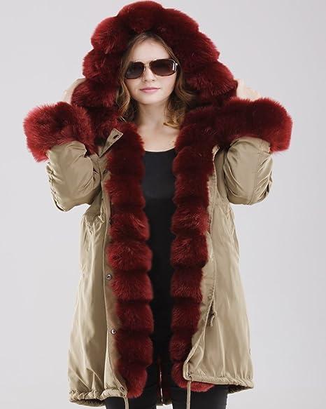 b4a442df6d0 Abrigo de mujer Roiii con capucha
