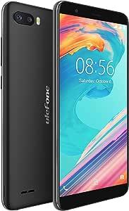 Ulefone S1 Pro - Smartphones Libres 4G, Doble SIM, Android Go, Pantalla 5.5 18:9, QuadCore, 1GB+16GB, Desbloqueo Facial, Doble Cámaras Traseras de 8MP+5MP, 3000mAh, WiFi, Bluetooth, GPS (Negro): Amazon.es: Electrónica