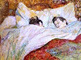 """18.1"""" x 24.1"""" Henri De Toulouse-Lautrec In Bed premium archival print reproduced to meet museum quality standards. Our museum quality archival prints are produced using high-precision print technology for a more accurate reproduction printed on high ..."""