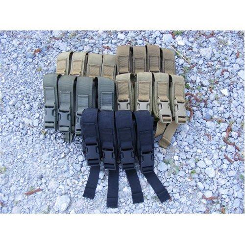 High Speed Gear 12PM02OD Modular Pistol Magazine Double Pouch Olvie Drab Quad Pistol Mag Pouch