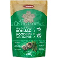 Yutaka Konjc Organic Gluten Free Noodles Seaweed 200G