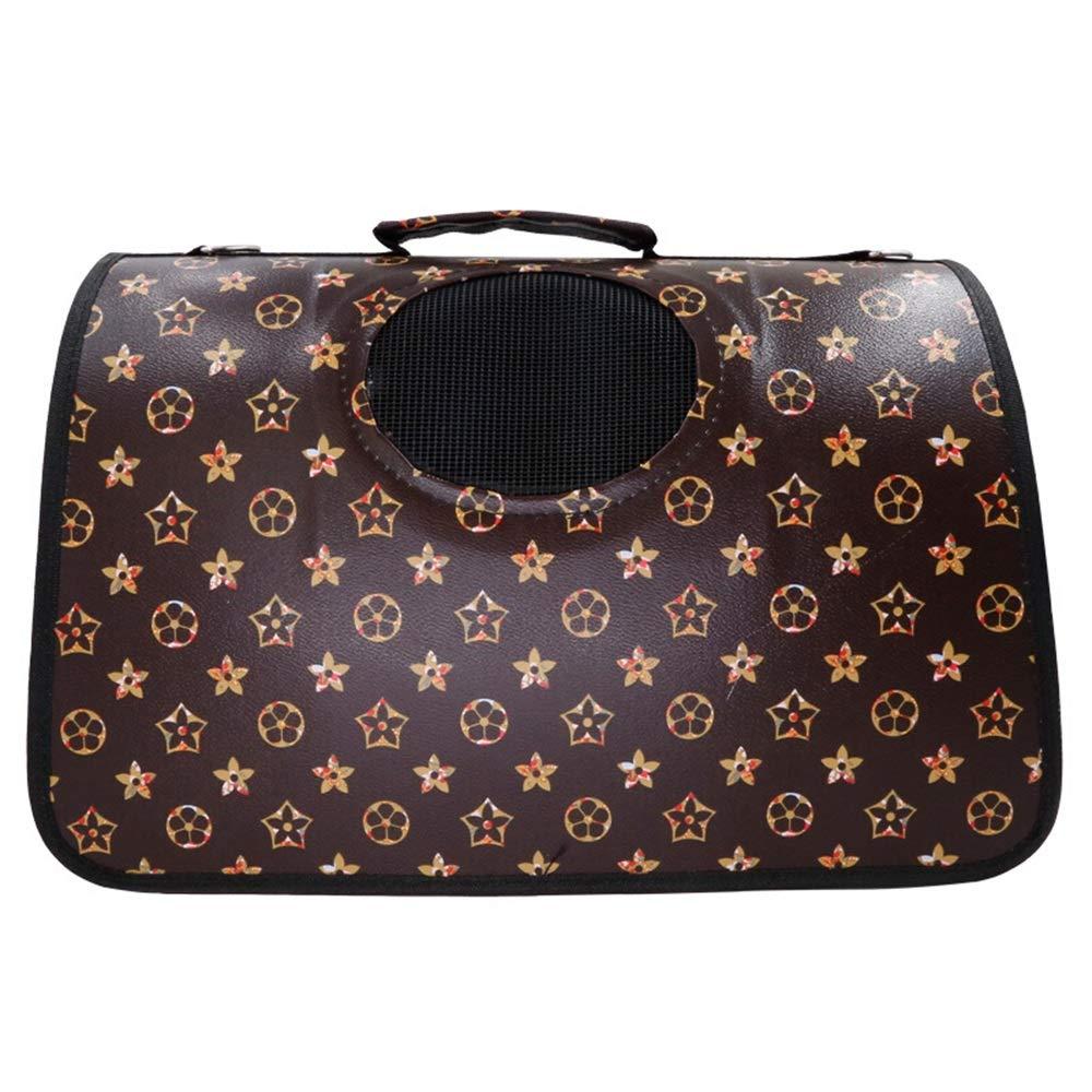 F 49X25X28CM F 49X25X28CM Jian E& Pet Bag Outing Bag Cat Backpack Cat Cage Teddy Dog Bag Cat Bag Cat Bag Dog Cat Folding Portable Travel Bag Bag (color   F, Size   49X25X28CM)