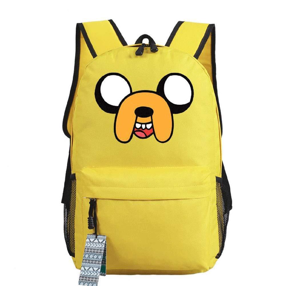 Mokago Adventure Time BMOバックパック コスプレ キャンバス ショルダーバッグ 学生 学校 ブックバッグ B07RWGMXSC