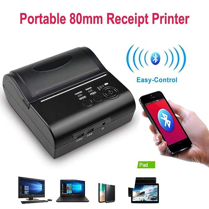 ZTT Impresora USB Receptora En Caliente WiFi Mini Personal ...