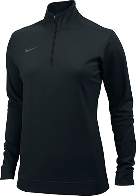 Nike Womens Dri,Fit 1/4 Zip , Navy , Large