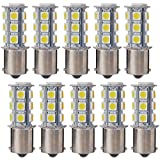 XCSOURCE 10pcs 1156 Car Warm White 18SMD 5050LED Tail Brake Turn Signal Light Bulb MA241