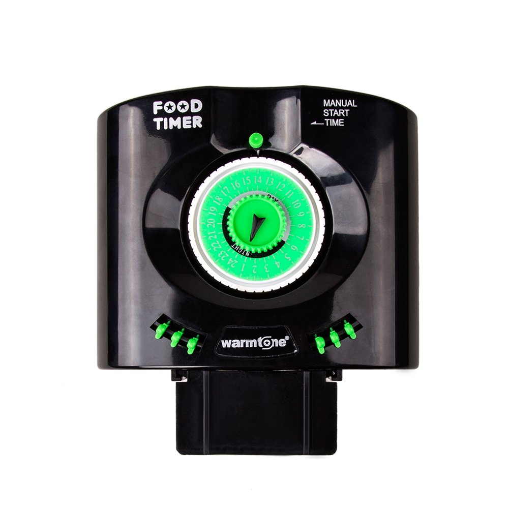 Aquarium fish tank automatic fish feeder - Amazon Com Daily 6 Times Automatic Fish Feeder Aquarium Tank Feeders Auto Food Timer Pet Feeding Dispenser On Schedule With Time Dials Bracket Manual