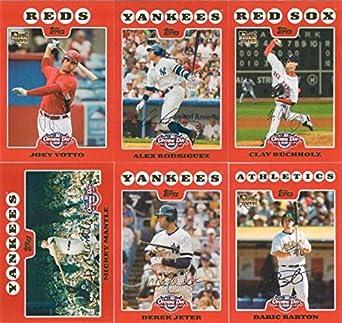 Amazoncom 2008 Topps Opening Day Mlb Baseball Series