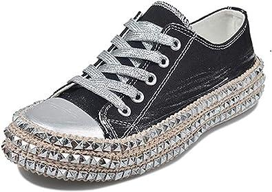 Personality Leopard grain Men Women Canvas Flat Slip On Casual Shoes Sneaker NND