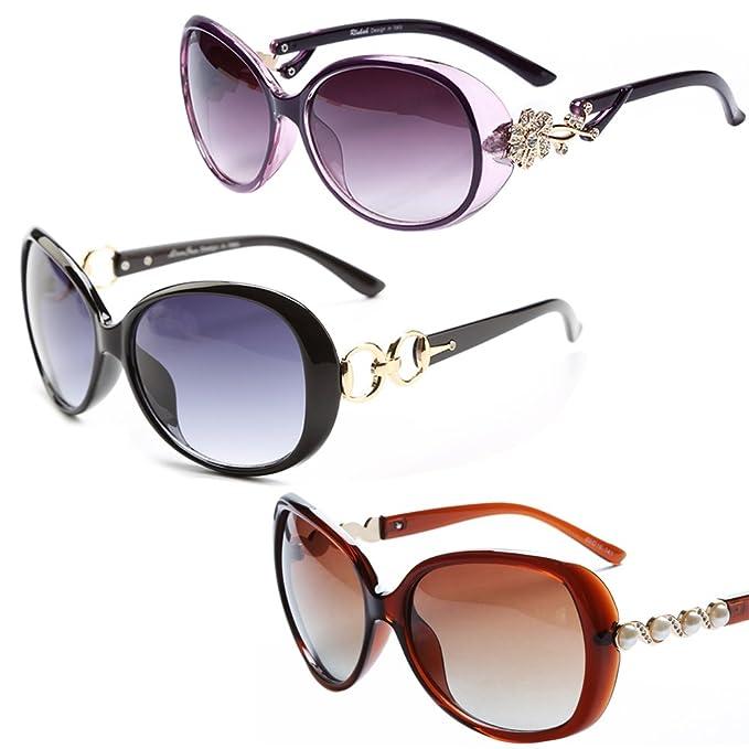 LianSan Marca Rhinestone moda gafas de sol lujo para mujer ...