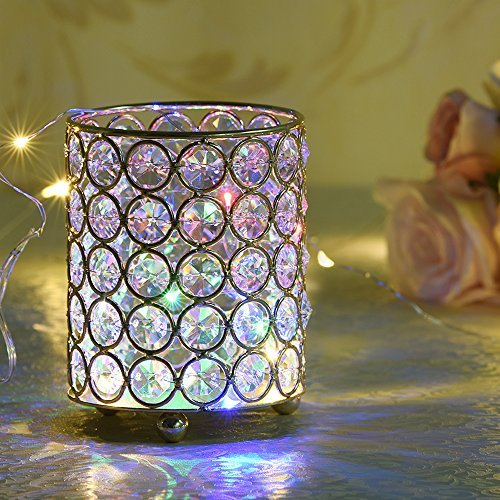 Crystal Beaded Led Light Floral Bouquet