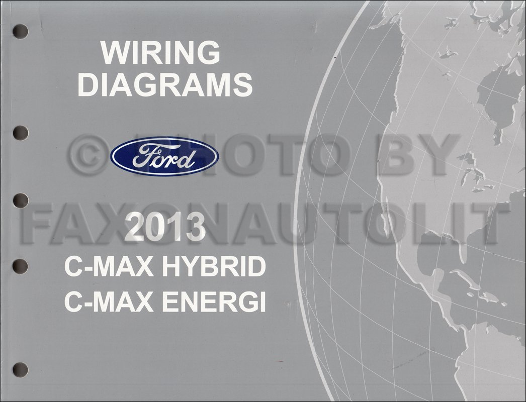 C Max Wiring Diagram Data Car Books 2013 Ford Manual Original Amazon Com Classic Diagrams