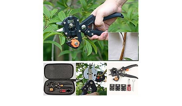 ... Scissor Grafting Cutting Tools Suit // Jardín de árboles frutales tijeras de podar pro tijera injerto corte traje de herramientas : Garden & Outdoor