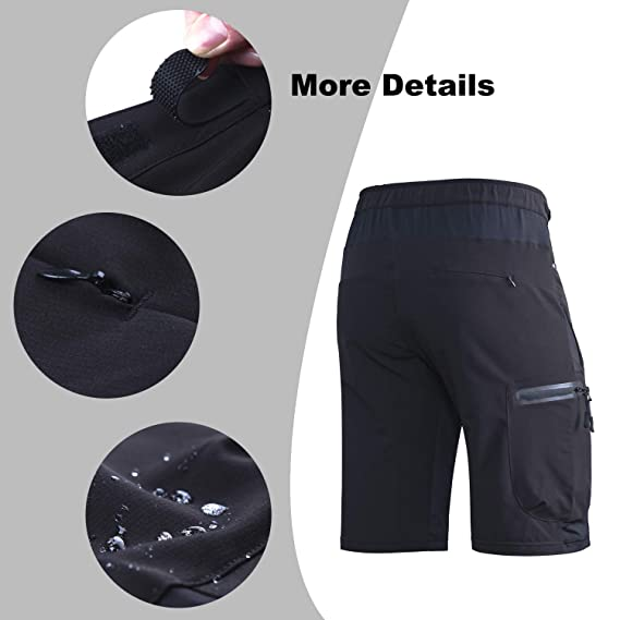 7a0a379c30d70 Amazon.com: Ally Mens MTB Mountain Bike Short Bicycle Cycling Biking Riding Shorts  Cycle Wear Relaxed Loose-fit: Sports & Outdoors