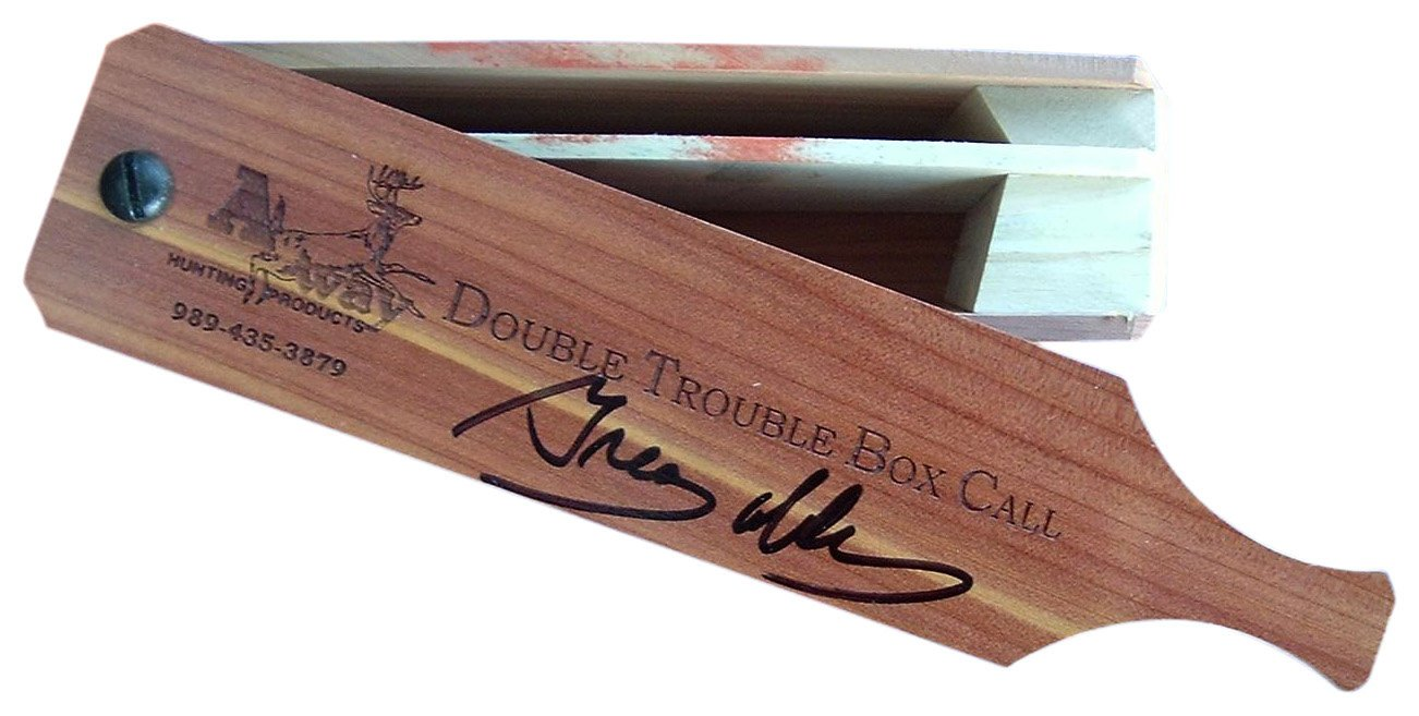 A-Way Hunting - Double Trouble Box Call - Turkey Calls - Game Calls by Turkey Calls
