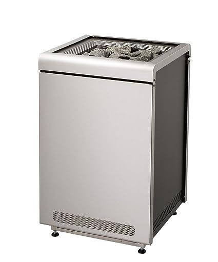 Sentiotec estufa para sauna Concept R 9 KW o, 10.5 KW piedras de diseño sauna