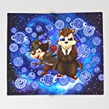 Society6 funny cute 10th and 4th Doctor squirrel iPhone 4 4s 5 5c 6, pillow case, mugs and tshirt Throw Blankets 88'' x 104'' Blanket