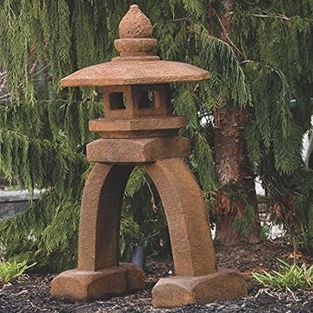 piedra arco oriental Pagoda adorno de jardín y patio: Amazon.es: Jardín