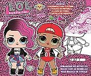 L.O.L. Surprise!: Colorindo com Adesivos Especial