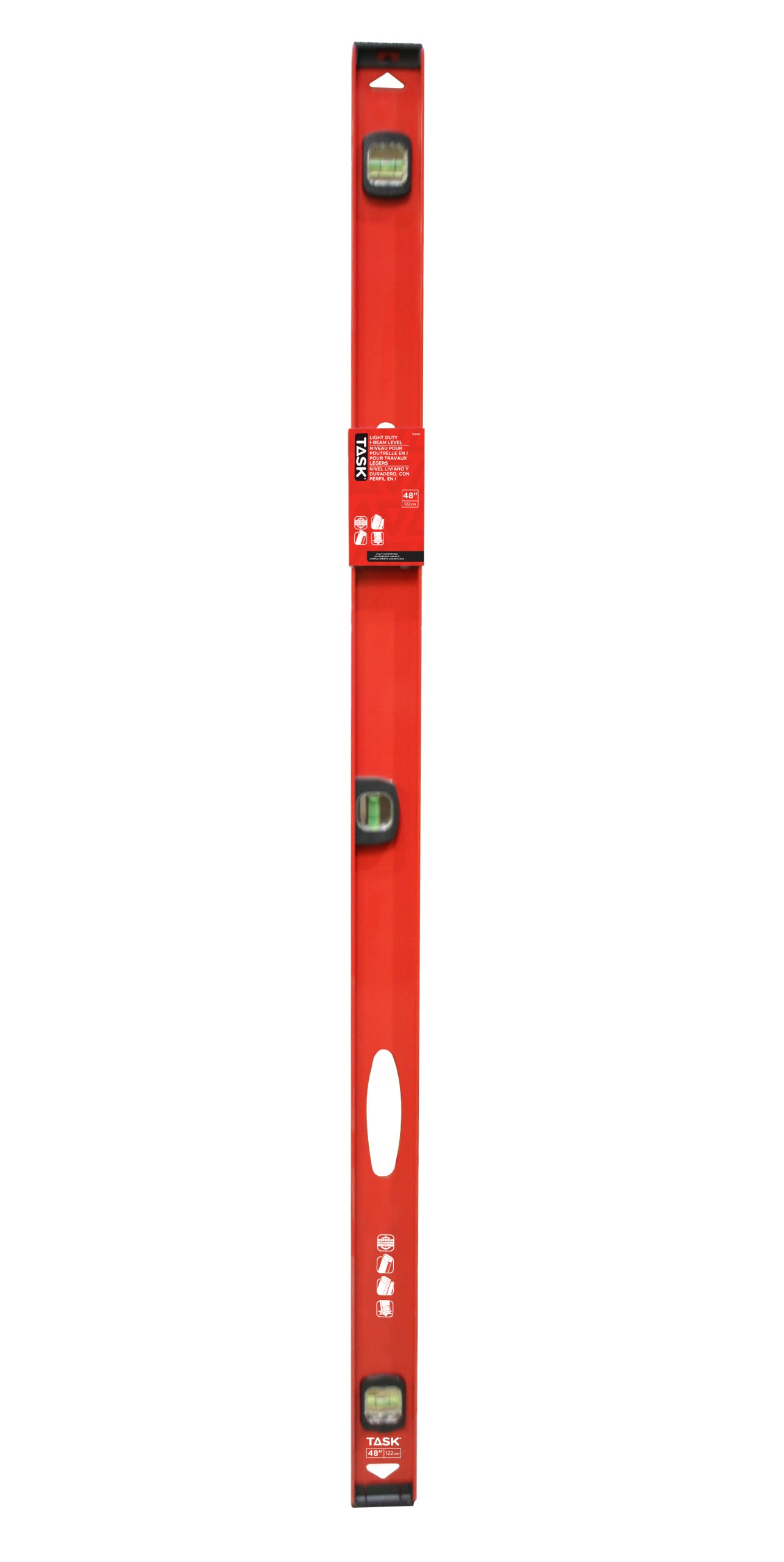 Task Tools T58027 48-Inch Light Duty I-Beam Level by Task Tools