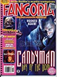 Fangoria Magazine 183 CANDYMAN Modern Erotic Vampires MUMMY eXistenZ THE HAUNTING June 1999 C