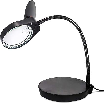 Lampe loupe noire fort grossissement