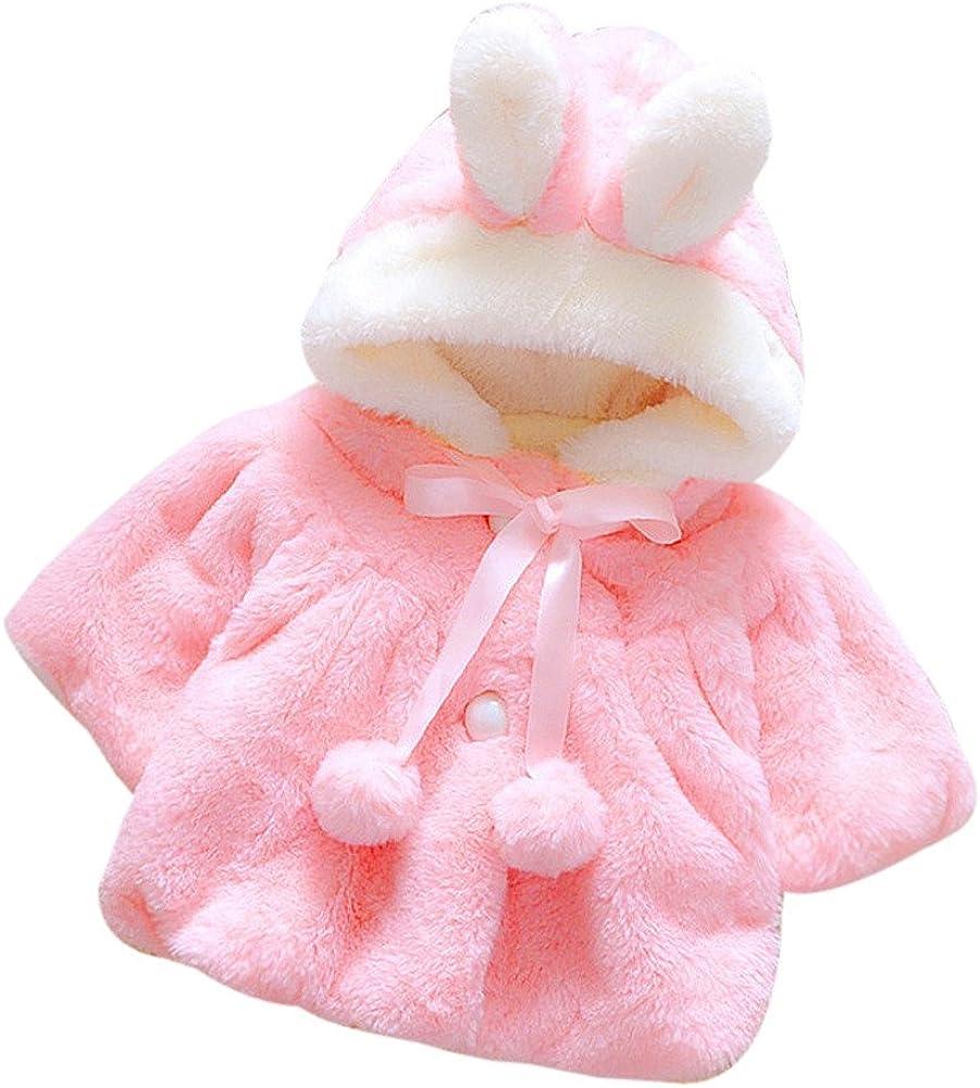 Giacche Bambino Invernali,Homebaby Giacca del Mantello del Cappotto di Inverno della Neonata...