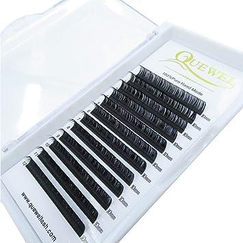 360682b6187 Amazon.com : Soft Silk Mink Eyelash Extension 0.07 D curl 11mm Premium  Volume Semi-permanent False Eyelashes : Beauty