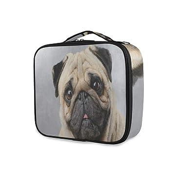 Pug Travel Makeup Bag