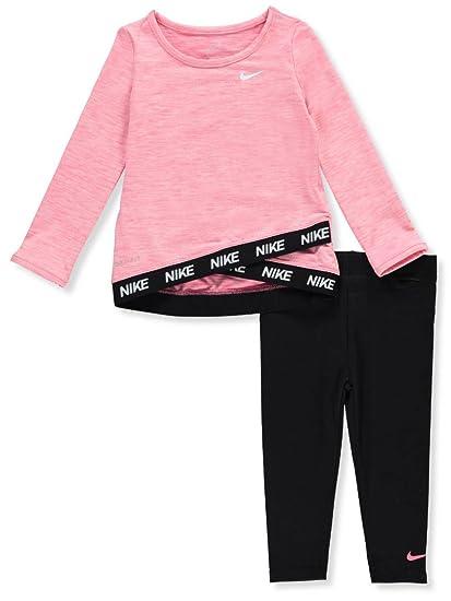 Nike Baby Girl Clothes Stunning Amazon NIKE Baby Girls' 60Piece DriFit Leggings Set Outfit