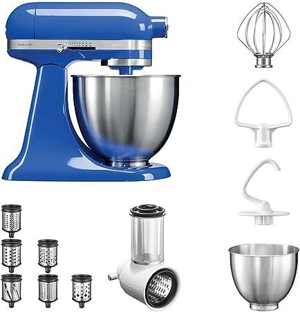 KitchenAid Robot de cocina fop Conjunto | Mini 5, ksm3311 X E Veggie S del paquete |