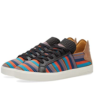 ec66938f5 Image Unavailable. Image not available for. Color  adidas Consortium x  Pharrell Williams Men Elastic Lace Up - Pink Beach ...