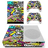 SKINOWN Xbox One S Slim Skin Art Bombing Slapping Sticker Vinly Decal Cover for Xbox One S(XB1 S) Console and 2 Controller Skins Review