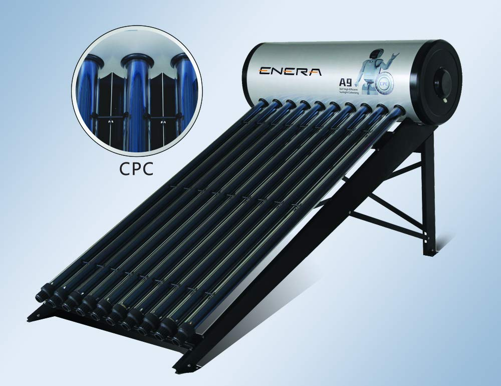 Calentador de agua solar para 6 personas