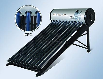 Calentador de agua solar para ACS (termosifón), HEAT PIPE, depósito 150 L