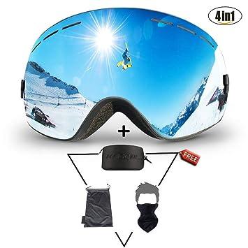 Gafas de esquí para esquiar Snowboard Snow- OTG Sobre gafas ...
