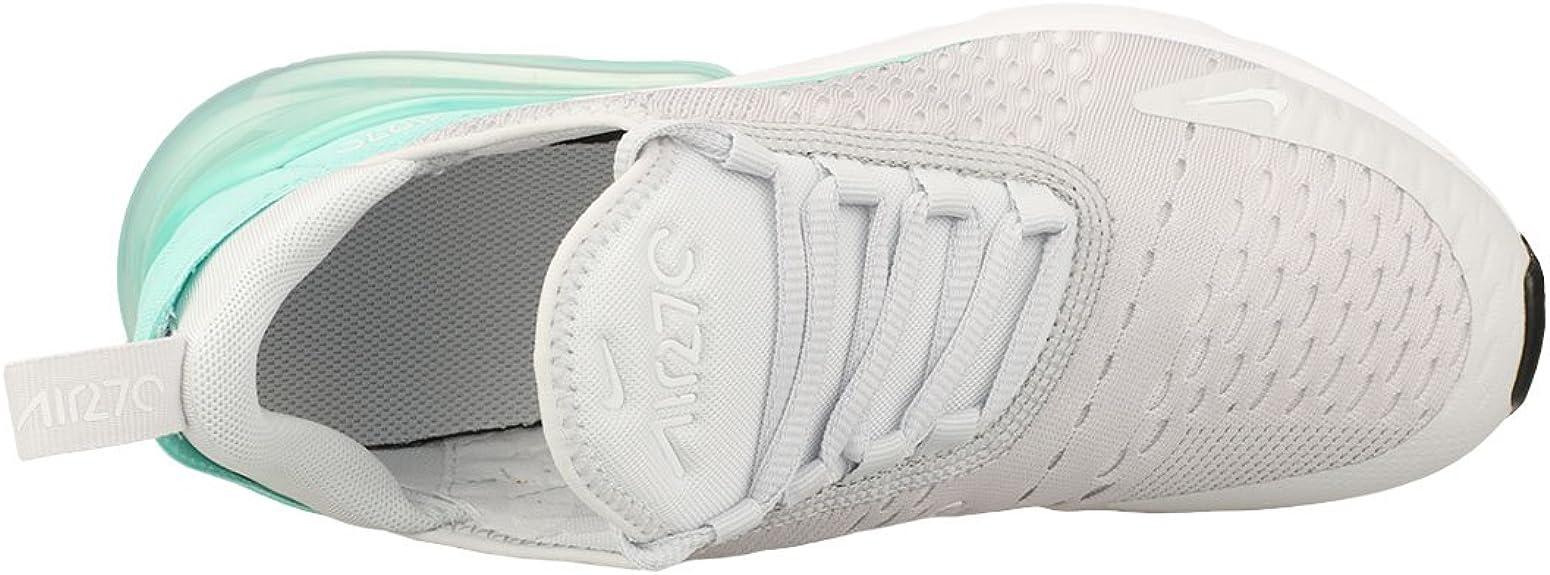 Nike Chaussures Air Max 270 (GS) argentéBlancVert Taille