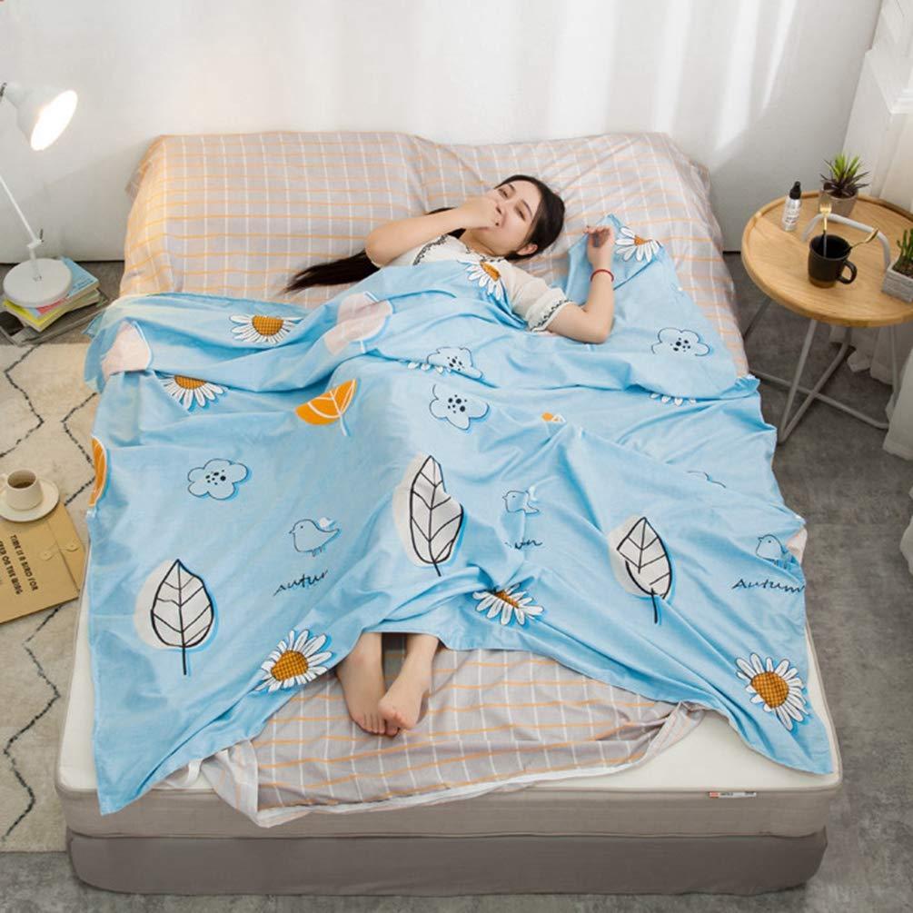 Ananas, 2XL: 200/×215cm YOUJIAA Doublure Draps de Sac de Couchage Rectangulaire L/ég/ère pour Voyage H/ôtel