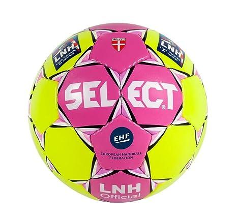 dea9fa6ef5699 SELECT MB Ballon de handball I Jaune/Pink I 47 cm: Amazon.fr: Sports et  Loisirs