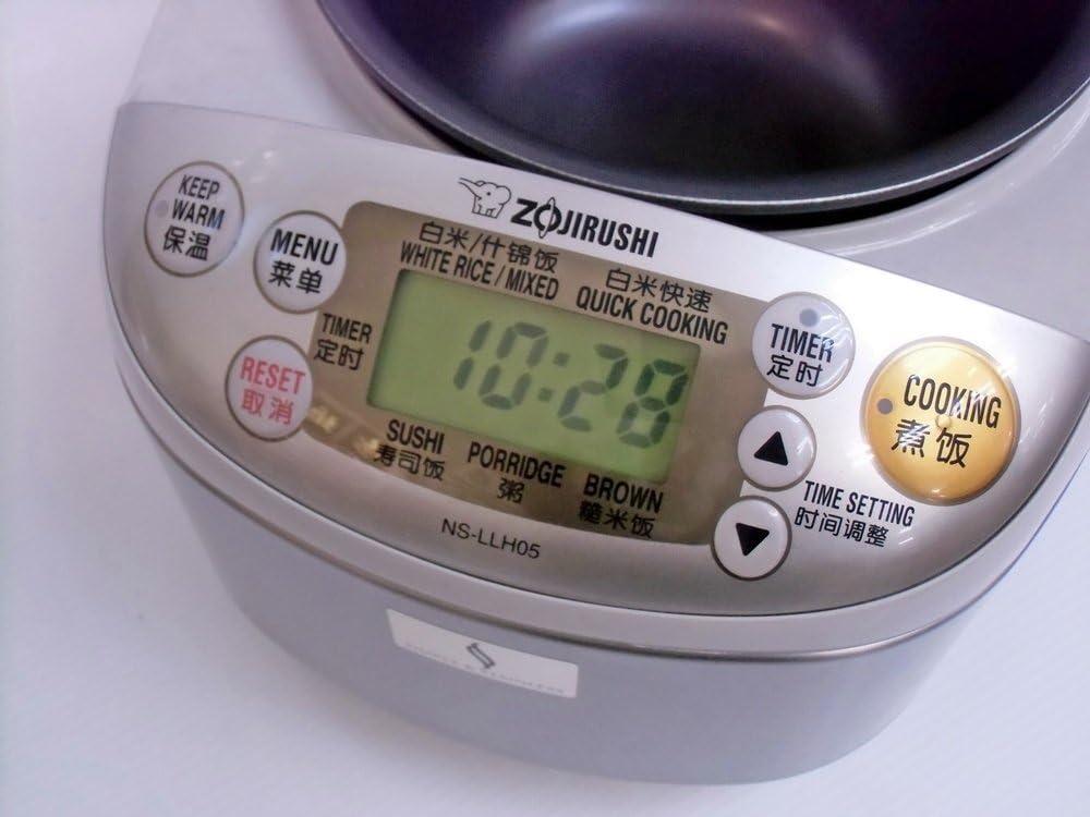 ZOJIRUSHI olla arrocera NS-0.54L LLH05-XA (para 220-230V, 50/60Hz ...
