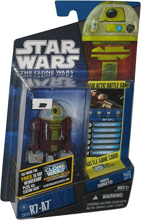 Star Wars Fighter Pods Series 4 #22 R7-A7 Droid Micro Figure