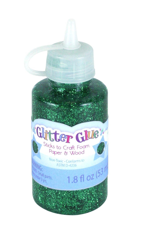 Glitter Glue 1.8 Ounces-Kelly Green Sulyn SUL51161