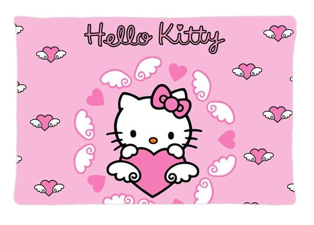 Ecow Hello Kitty - Funda de almohada personalizada para ...