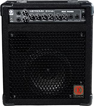 Eden metromix serie multiusos amplificadores usm-em25-u 25 W amplificador de guitarra cabeza