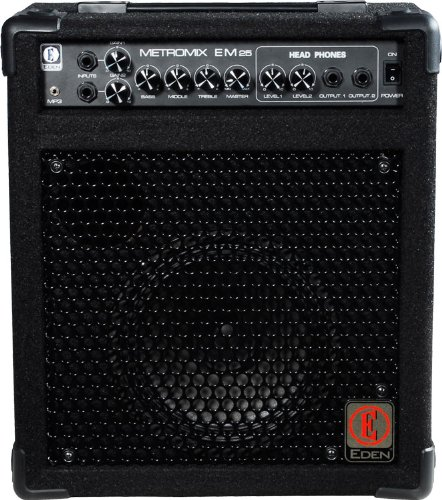 Eden Metromix Series Multi-purpose Amplifiers USM-EM25-U 25-Watt Guitar Amplifier Head