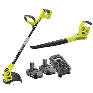 Ryobi ZRP2200 - ZRP2170 Hybrid String Trimmer and Blower Kit