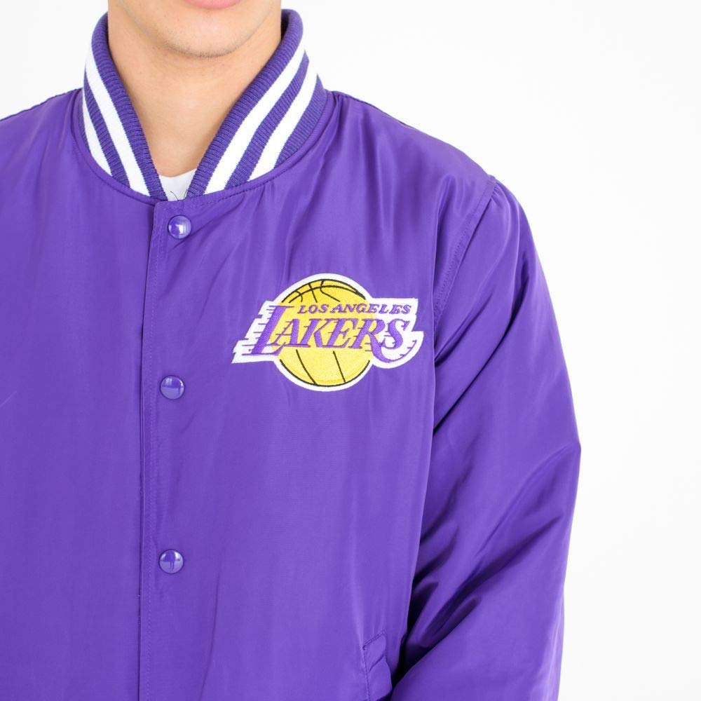 A NEW ERA Era Los Angeles Lakers Chaqueta Bomber: Amazon.es: Ropa y accesorios