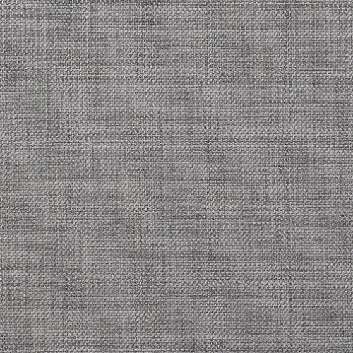 A245 Outdoor Indoor Marine Upholstery Fabric By The Yard | Textured Solid - Grey